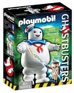 New! PLAYMOBIL Ghostbusters Stay Puft & Stantz Playset