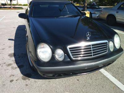 1999 Mercedes-Benz CLK-Class CLK320 (Black)