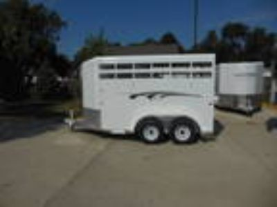 Trails West Adventure II 2 Horse Bumper Pull Trailer