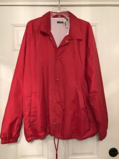 NWT red jerzees Coat