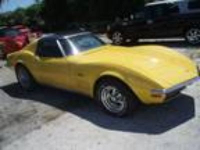 1972 Chevrolet Corvette Stingray T-top SURVIVOR