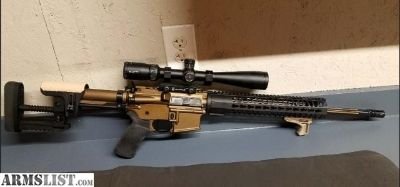 For Sale/Trade: Precision AR15 for 4x4
