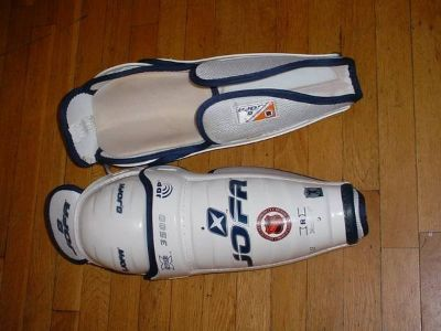 Sherwood 7000 Senior Hockey Goalie Pants W/Straps Black M PICTURES!