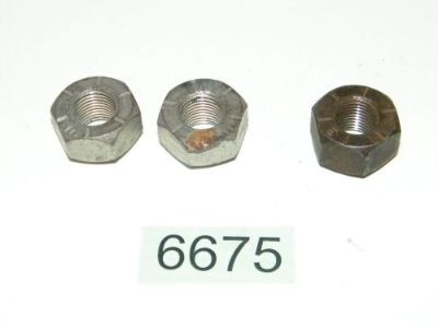 Purchase 3 Lug Nuts 9/16-20 x 21/32 1971 - 1999 Chevy GMC Trucks Vans C30 P30 R30 V30 motorcycle in Granville, Illinois, United States, for US $6.95