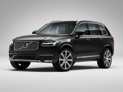 2019 Volvo XC90 (Crystal White Pearl)