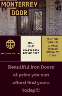 Iron Doors Elegant Designs