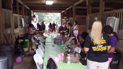 Pony Birthday Parties and Horse Back Riding Event Venue