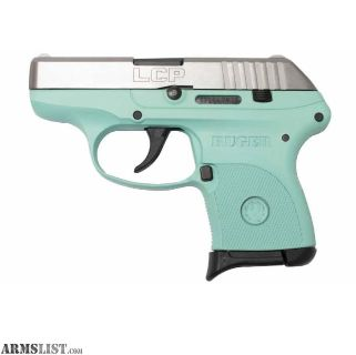 For Sale: Ruger LCP turquoise w/ stainless steel slide