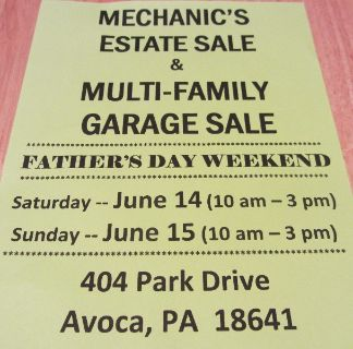 *** MECHANIC'S ESTATE SALE ***