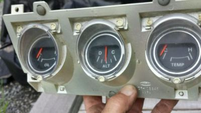 Buy ORIGINAL 71 72 73 FORD MUSTANG MACH BOSS Center Dash Gauge Package Cluster motorcycle in Orangeville, Pennsylvania, United States, for US $225.00