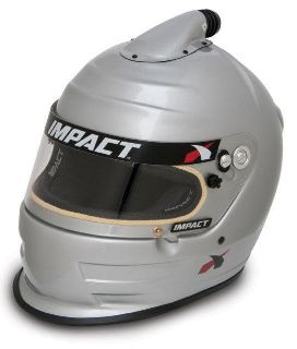Sell IMPACT RACING 16099408 AIR VAPOR HELMET MEDIUM SILVER SA2010 motorcycle in Moline, Illinois, US, for US $849.99