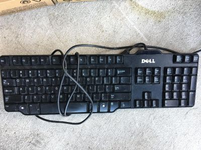 Dell wired keyboard. EUC. Just don t need it.