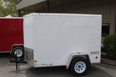 2017 Haulmark PPT5X8DS2 Cargo Trailers Adams, MA