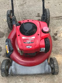 Selling a troy-bilt push lawn mower