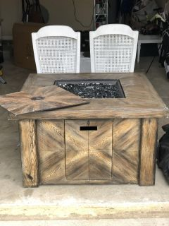 New- never used propane fire place