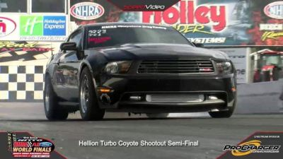 8 second turbo mustang show car