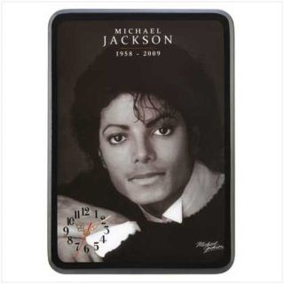 Wall Clock - Michael Jackson - Portrait - Battery operated