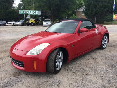 2007 Nissan 350Z Enthusiast (Red)