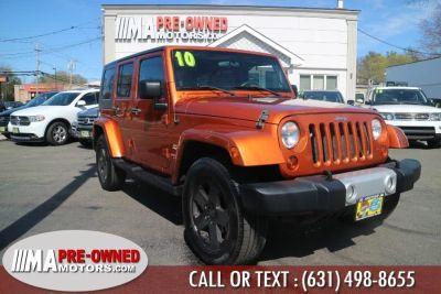 2010 Jeep Wrangler Unlimited Sahara (Mango Tango Pearl)