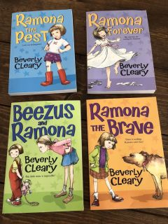 Ramona set By Beverly Cleary