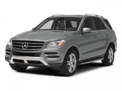 2014 Mercedes-Benz M-Class ML350 BlueTEC (Iridium Silver Metallic)