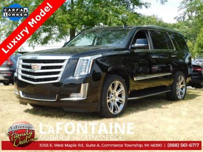 2015 Cadillac Escalade Luxury (Black Raven)