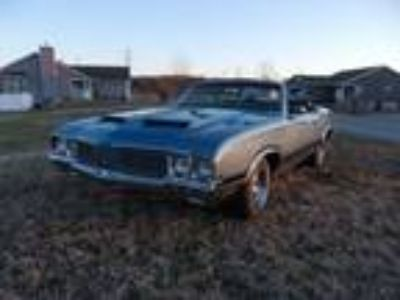 1970 Oldsmobile Cutlass Supreme 442 W-30 Convertible
