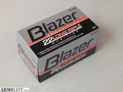 For Sale: Blazer .22LR