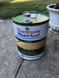 Thompson s water seal clear