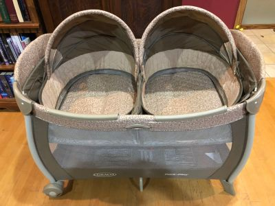 Graco pack n play with bassinet for twins.