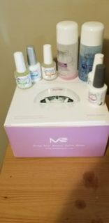 Gel Nail Dryer and Supplies