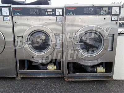 Fair Condition Speed Queen Front Load Washer Timer Model 50LB 3PH SC50EC2 Stainless Steel AS-IS