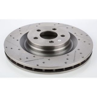 Find JEGS Performance Products 632210 HP Drilled & Slotted Brake Rotor motorcycle in Delaware, Ohio, United States, for US $59.99