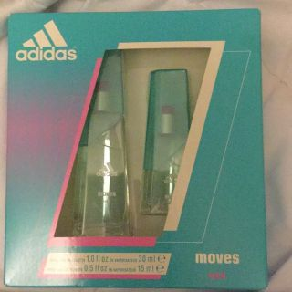 Adidas moves for her perfume