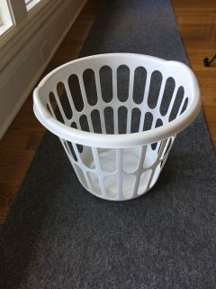 Sterilite White Laundry Basket