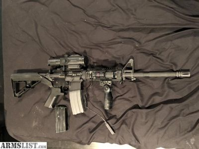 For Sale: DTI At-15 w/slide fire and accessories
