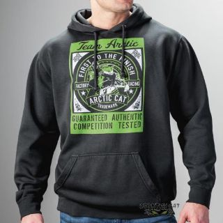 Find Arctic Cat Men's Team Arctic Factory Racing Vintage Hoodie - Black - 5279-40_ motorcycle in Sauk Centre, Minnesota, United States, for US $64.99
