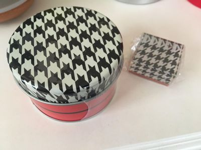 Tin can + paper weight