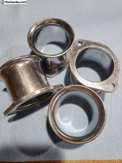 NOS Dellorto DRLA 45mm Aluminum Air Horns
