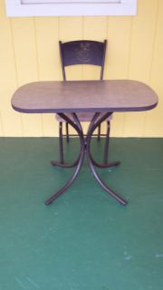 Cafe table & chair set
