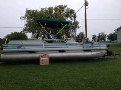 92 24' pontoon boat for sale