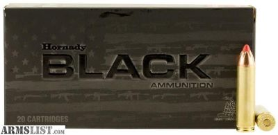 For Sale: Hornady 82246 Black 450 Bushmaster 250 GR FTX 20 Bx/ 10 Cs. no taxes, no credit card fees, Flat rate shipping is $14.95 for unlimited ammunition