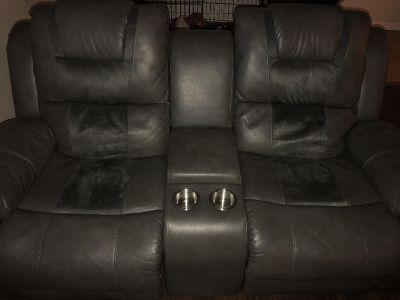 Love seat plus couch