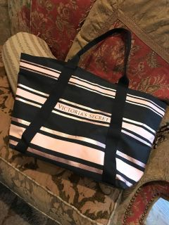 Victoria s Secret over night / beach bag (used once)