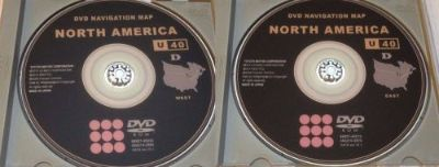 Buy 2006 2007 2008 2009 Toyota Lexus U40 Navigation 2016 Map EAST + WEST DVD 15.1 motorcycle in Wadsworth, Ohio, United States, for US $34.95