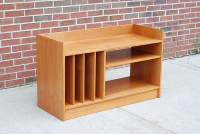Teak Record Cabinet Storage Unit Credenza buffet
