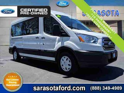 2017 Ford Transit Wagon XLT*MEDIUM ROOF*15 PASSENGER VAN*FORD CERTIFIED*