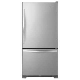 "Black Friday Special NOW: Whirlpool 33"" Bottom Freezer Refrigerator"