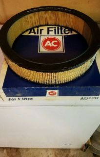 Find 66 67 68 69 70 71 NOS AC A212CW AIR FILTER BBC CORVETTE CAMARO GTO NOVA CHEVELLE motorcycle in Warrenville, Illinois, United States