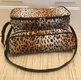 Matching Leopard Print Bags by Jasmine la belle